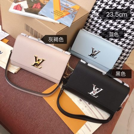 LV Lockme Clutch 手袋 M56087 M56088 M56136三色